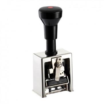 Numerator Reiner B6 (metalno kućište, 6 kolona, 4.5 mm visina znamenki, block)