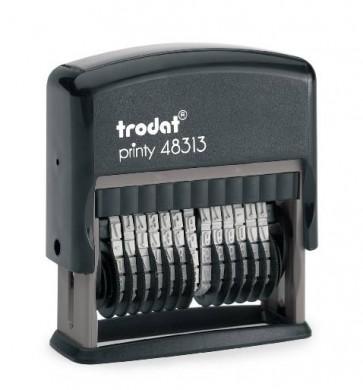 Numerator Trodat, Printy 48313 (13 kolona, 3.8 visina znamenki)