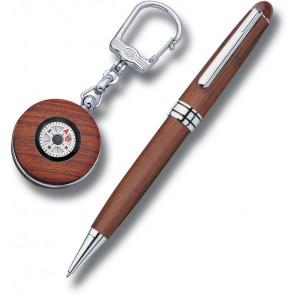 Privjesak wooden series kompas + olovka 2794.KKP (logo 30x30 mm)