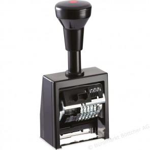Numerator Reiner B6K (plast, kućište, 6 kolona, 4.5 mm visina znamenki, block)