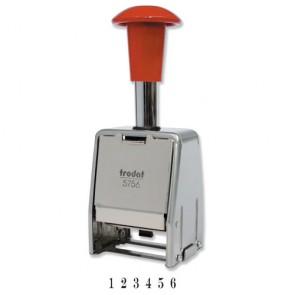 Numerator Trodat 5756 metalni, (6 kolona /5.5 mm visina)