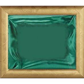 Plaketa Verona 1010G, zlatni okvir, 410x350mm, sa zelenom postavom, kutija