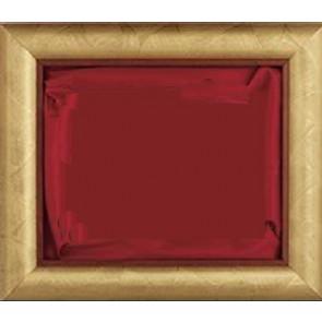 Plaketa Verona 1010R, zlatni okvir, 410x350mm, s crvenom postavom, kutija