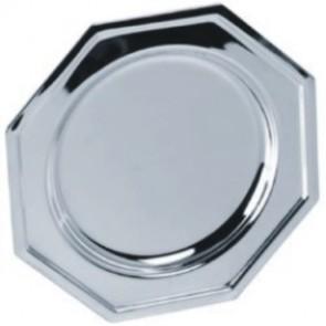 Tanjur BIEMANS TAN.BI.D222.ZG, R=200 mm, srebrni