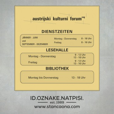 Natpisna pločica za ured 3SL (3 mjesta, 150x150 mm, europsko zlato/crna)