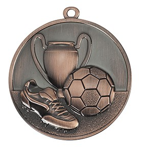 Medalja 105 brončana (50 mm promjer, nogomet, 100 kom/paket)