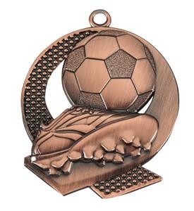 Medalja 106 brončana (50 mm promjer, nogomet, 100 kom/paket)
