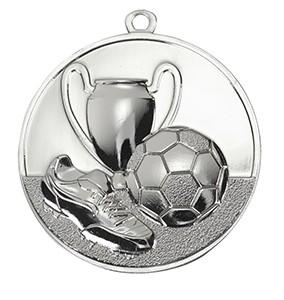 Medalja 105 srebrna (50 mm promjer, nogomet, 100 kom/paket)