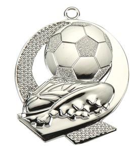 Medalja 106 srebrna (50 mm promjer, nogomet, 100 kom/paket)