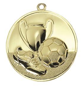 Medalja 105 zlatna (50 mm promjer, nogomet, 100 kom/paket)