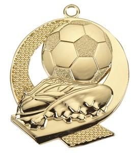 Medalja 106 zlatna (50 mm promjer, nogomet, 100 kom/paket)