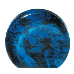 Akrilna nagrada Aurora mramor plava R152x25mm