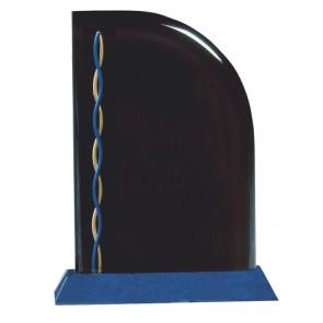 Akrilna nagrada Sail plavo postolje 229x178 mm