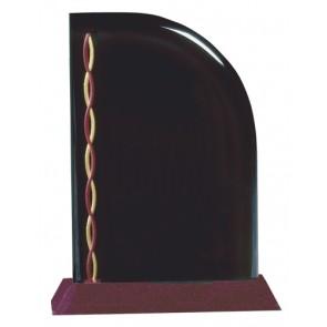 Akrilna nagrada Sail crveno postolje 229x178 mm