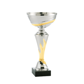 Pehar 126 zlatno-srebrni (visina 240 mm, promjer 100 mm #65x65x30)