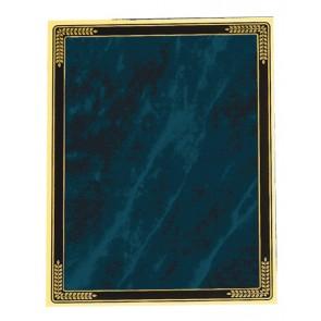 Plaketa Victory PPB25C.BL, metalna (Ms), plavi mramor, 175x250mm