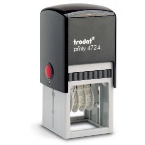 Štambilj gumeni + Datumar Trodat Printy 4724 (40x40 mm)