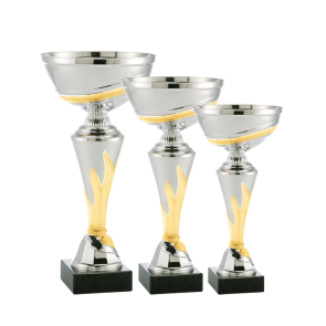 Set od tri pehara model 126 (visina 210 mm / 240 mm / 270 mm)